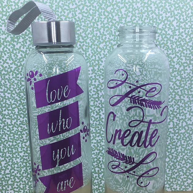 Adhesive Foil Designs On Water Bottles Master Procraftinator